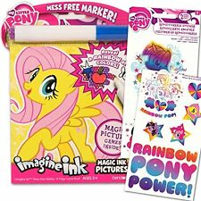 My Little Pony Imagine Ink Book Set Includes Mess Free Marker and Stickers