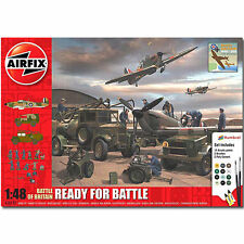 AIRFIX A50172 Battle of Britain Ready for Battle GiftSet 1:48 Aircraft Model Kit
