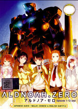 Aldnoah Zero DVD Complete 1-12 - Anime - English Sub - USA Ship FAST