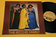 RITCHIE FAMILY LP BEST OF 1°ST ORIG ITALY 1977 NM TOP DISCO DANCE