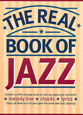 The REAL Book of Jazz Music Guitar Vocal Clarinet Flute