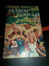 1916 PENROD AND SAM HARDCOVER with DJ Booth Tarkington Thrushwood