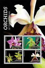 Canouan Grenadines of St Vincent - Orchids of the Caribbean - 1401 S/H MNH