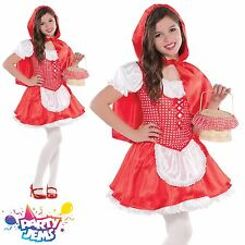 Little Red Riding Hood Girls Fancy Dress Costume Outfit 8-10 yrs