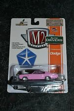 M2 MACHINES AUTO DRIVERS 1966 PINK DODGE CHARGER 383 R32