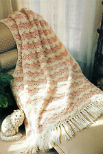 QUICK & Easy Shell Afghan/Crochet Pattern Instructions