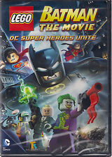LEGO BATMAN MOVIE DC SUPERHEROES UNITE (DVD, 2013) NEW