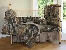 REALTREE APG CAMOUFLAGE BABY CRIB BEDDING FITTED SHEET