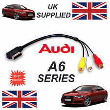 New AUDI A6 Series 2011+ AMI MMI  4F0051510N RCA PHONO Audio Video Cable