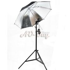 New Photo Studio Light Stand Umbrella Bulb Socket Set