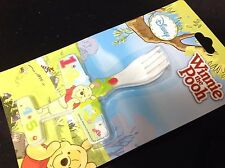 Set Winnie The Pooh Fork Spoon Airplane For Baby Food include a GIFT