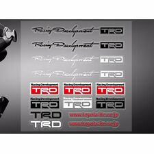 Car Sticker Logo Racing Motor Sports for Toyota TRD