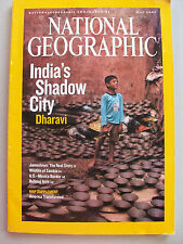 National Geographic MAGAZINE MAY 2007 Dharavi **GC**