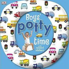 Boys' Potty Time (Dk) New Board Book