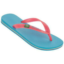 Ipanema Brazil Womens Flip Flops Blue/Pink, Black and Brown/Gold