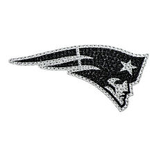 New England Patriots Bling Auto Emblem [NEW] NFL Car Decal Glitter Sticker CDG