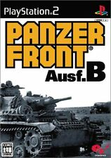 Used PS2 Panzer Front Ausf.B   Japan Import (Free Shipping)