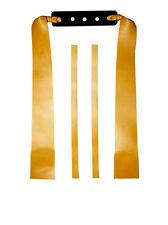 Theraband Gold Ersatzgummi / 21cm, Ersatzband, Sportschleuder,Schleuder,Zwille