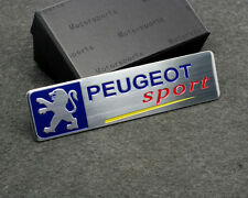PEUGEOT Sport Car Trunk Emblem Adhesive Badge sticker for 206 306 308 408 508