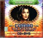 ALEJANDRA GUZMAN Combo De Grandes Exitos CD +DVD Somos La Historia FLOR DE PAPEL