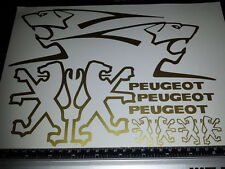 Peugeot decals/stickers Todos Los Colores Disponibles Speedfight speedake Trekker Buxy