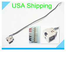 DC power jack charging port in cable harness for HP PAVILION DV8 HDX18 X18