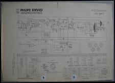 PHILIPS nd444v Autoradio schema elettrico EDIZIONE 04/55
