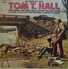 TOM T. HALL - IN SEARCH OF A SONG - MERCURY STEREO SR 61350  LP (X411)