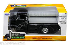 JADA 1952 CHEVROLET COE PICKUP TRUCK BLACK W/ CHROME WHEELS 1/24 DIECAST 97465MJ
