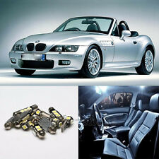 12pcs White Canbus for BMW Z3 E36/7 E36/8 Interior LED Light Package Kit 96-02