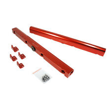CBM-VP00106-RED BILLET LS2, LS3 STYLE FUEL RAILS RED ANODIZED