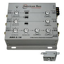 AMERICAN BASS  American Bass 3-Way Active Crossover