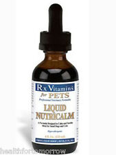 Rx Vitamins for Pets Liquid NutriCalm Dogs & Cats 4 oz