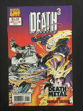 Box 44a, Comic Marvel, Death3, # 2 of 4 Oct Death Metal Vs Ghost Rider