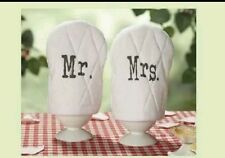 Mr & Mrs Egg Cosy Pair. Wedding / Anniversary Gift / Present. Husband and Wife.