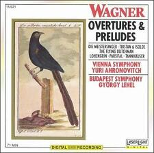 Audio CD Wagner: Overtures & Preludes  - Free Shipping