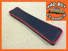 MGB Armrest Pad For Centre Console Black / Red Piping