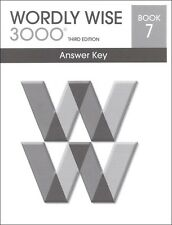 Wordly Wise 3000 Grade 7 Key **3rd Edition**