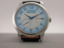 F.P.Journe Souverain Chronometre Platinum Blue Mother of Pearl Boutique Edition