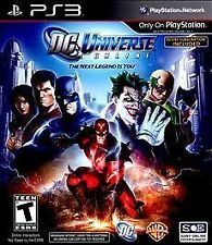 DC Universe Online Hero Edition PS3 New Playstation 3