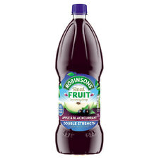 Robinsons Double Concentrate Apple Blackcurrant NAS 1.75ltr x4 £3.33 Each ExcVat