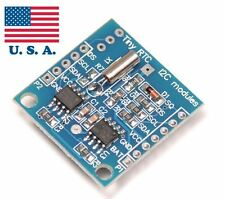 I2C RTC Module AT24C32 DS1307 Real Time Clock Uno 2560 AVR ARM PIC Arduino USA