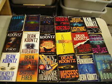 41 DEAN KOONTZ HUSBAND SEIZE TICKTOCK LIGHTNING KEY WHISPERS COLD FIRE pb lot