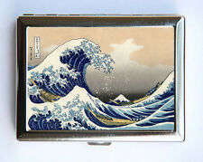 Great Wave off Kanagawa Cigarette Case Wallet Business Card Holder japanese