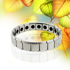 For Men Anti-Fatigue Germanium Titanium Energy Bracelet Power Bangle Relife