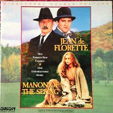 Jean de Florette & Monon Of The Spring - Double French Film  Box set Laserdisc