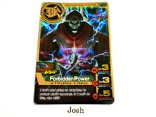 Animal Kaiser Evolution Evo Version Ver 5 Gold Card (S124E: Forbidden Power)