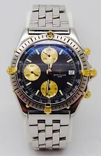MEN'S BREITLING CROSSWIND TWO TONE WATCH
