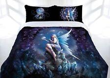Anne Stokes Stargazer Fairy Fantasy Gothic Queen Size Quilt Doona Cover Set
