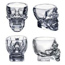 Hot Crystal Skull Head Vodka Whiskey Shot Glass Cup Drinking Ware Home Bar MT